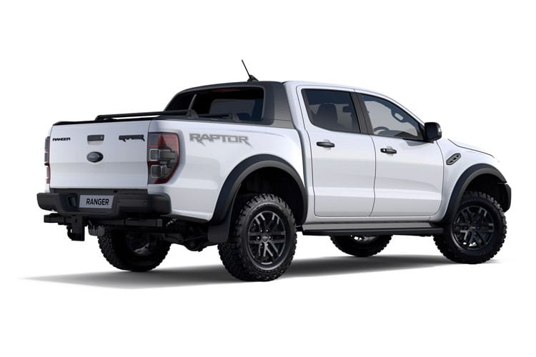Ford Ranger PickUp Double Cab 4wd 3.2 TDCi 4WD 200PS Wildtrak Pickup Double Cab Auto [Start Stop] back view