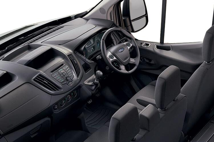 Ford Transit 350 L3 2.0 EcoBlue FWD 130PS Leader Luton Auto [Start Stop] inside view
