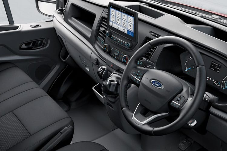 Ford Transit 350 L4 RWD 2.0 EcoBlue RWD 170PS Leader Premium Dropside Manual [Start Stop] inside view