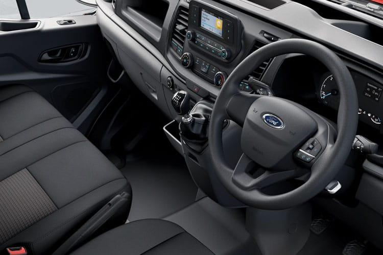 Ford Transit 350 L4 2.0 EcoBlue FWD 130PS Leader Chassis Cab Auto [Start Stop] inside view