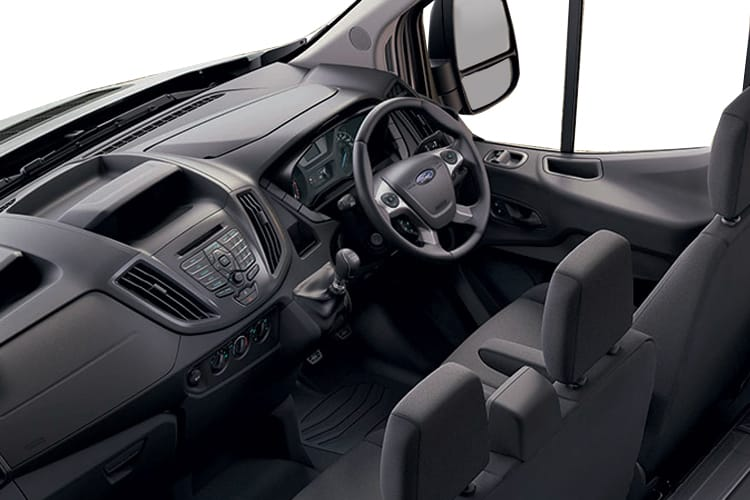 Ford Transit 350 L2 2.0 EcoBlue FWD 130PS Leader Tipper Manual [Start Stop] [1Way 1Stop] inside view